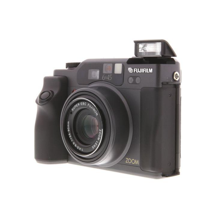 Fuji GA645ZI Pro Zoom  Medium Format Camera, Black, 55-90mm f/4.5-6.9 (52)
