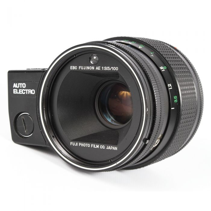 Fuji 100mm F/3.5 EBC AE Lens For G690 Series {72}