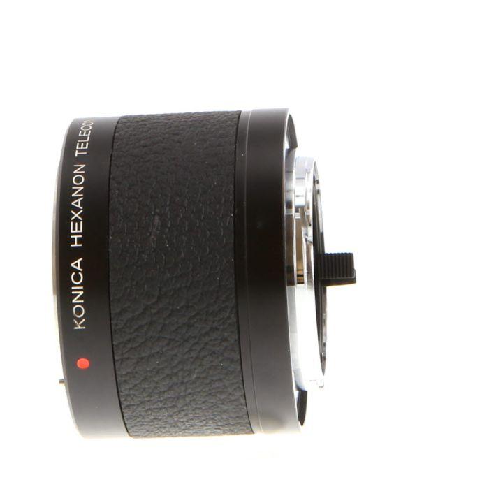 Konica 2X Hexanon AR Teleconverter for Konica