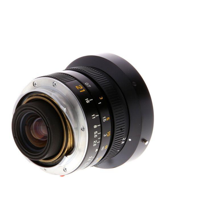 Leica 21mm f/2.8 Elmarit-M M-Mount Lens {60} 11134
