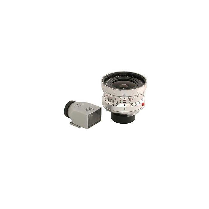Leica 21mm f/3.4 Super Angulon M-Mount Lens, Chrome {48} 11103