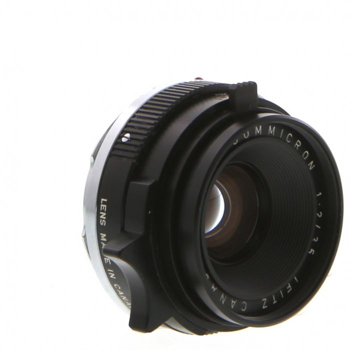 Leica 35mm f/2 Summicron M-Mount Lens, Canada Black {39}