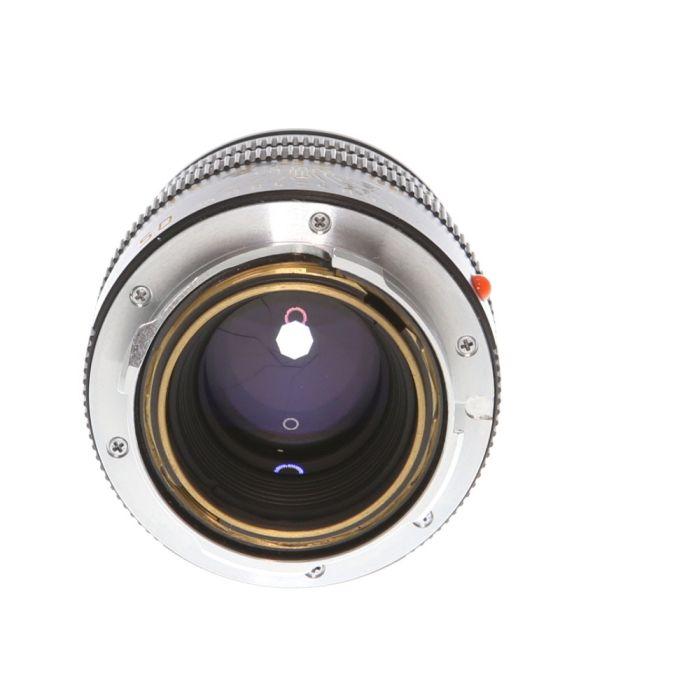 Leica 50mm f/2 Summicron-M M Mount Lens (Built-In Hood), Black (11826) {39}