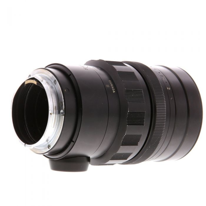Leica 90mm f/2 Summicron M-Mount Lens (f/22 on Left), Canada, Black {48} with Collapsible Hood