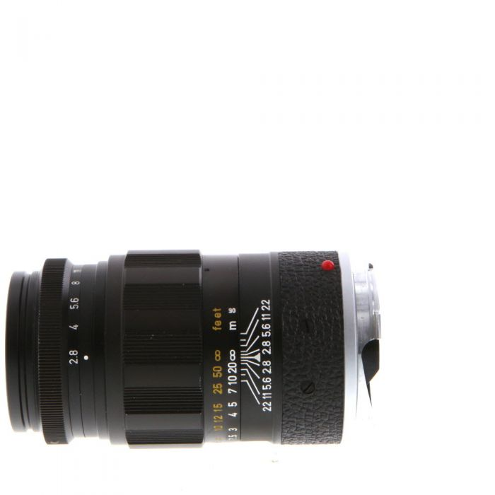 Leica 90mm f/2.8 Elmarit M-Mount Lens, Germany, Black {39}