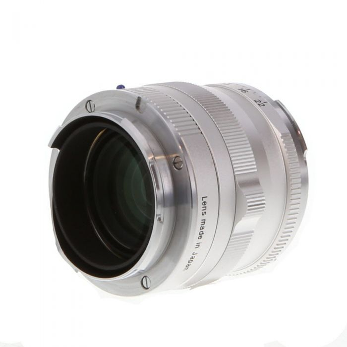 Zeiss 50mm F/2 Planar ZM T* Lens For Leica M Mount, Silver {43}