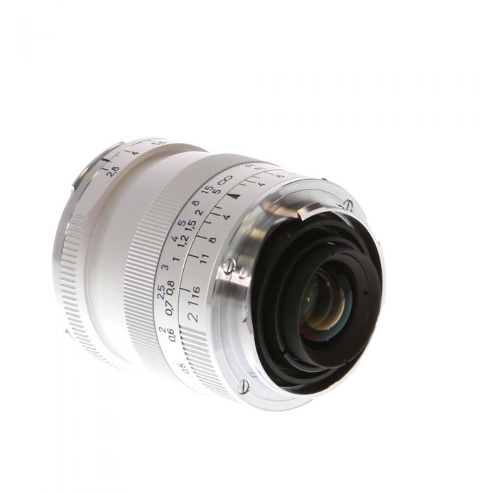 Zeiss 21mm F/2.8 Biogon ZM T* Lens For Leica M Mount, Silver {46}
