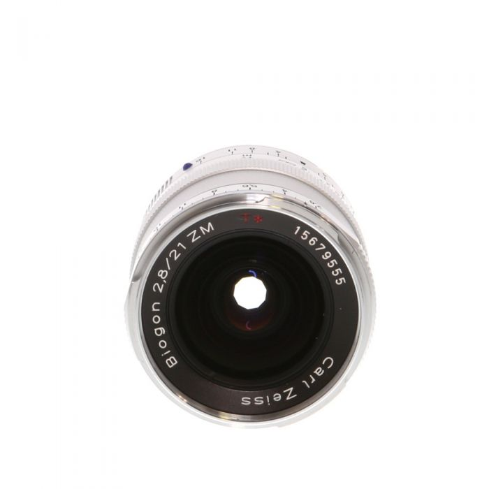 Zeiss 21mm F/2.8 Biogon ZM T* Lens For Leica M Mount, Silver {46}