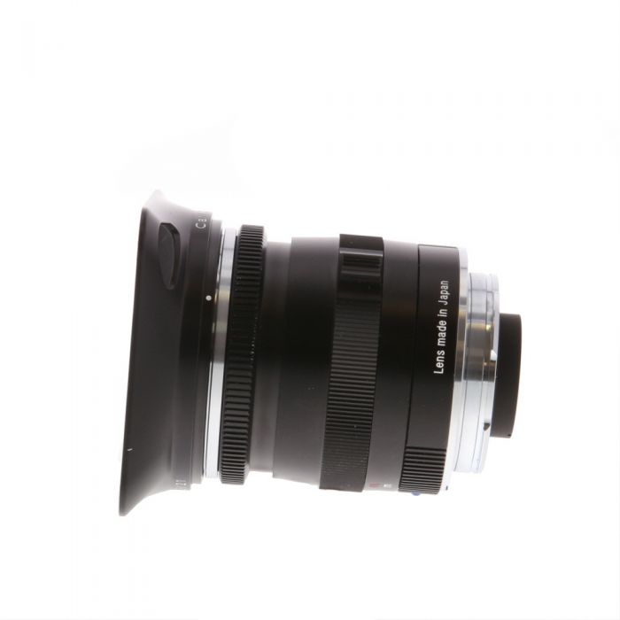 Zeiss 21mm F/2.8 Biogon ZM T* Lens For Leica M Mount, Black {46}