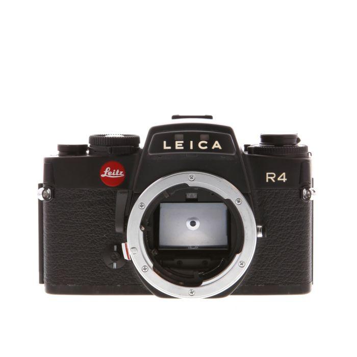 Leica R4 Black 35mm Camera Body