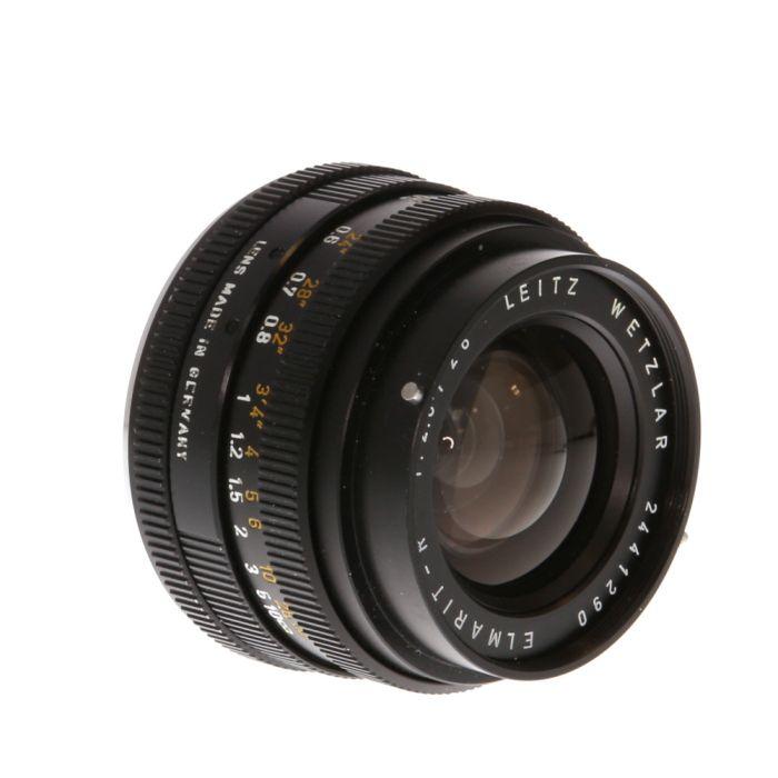 Leica 28mm f/2.8 Elmarit-R 2 Cam Lens {48}