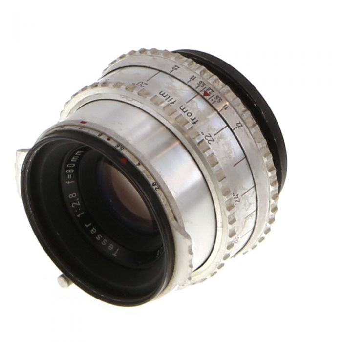 Hasselblad 80mm F/2.8 Tessar Lens For Hasselblad 1000F