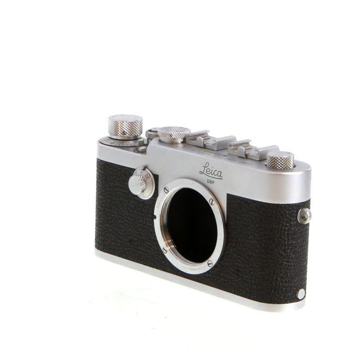 Leica IG 35mm Camera Body, Chrome