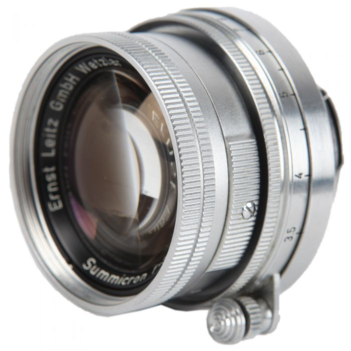 Leica 50mm F/2 Summicron Collapsible Screw Mount Lens {39}