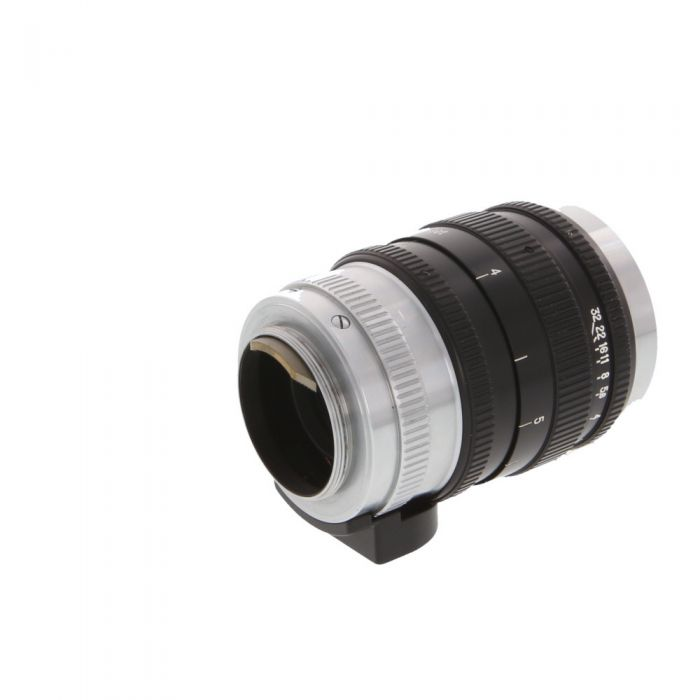 Nikon 10.5cm (105mm) f/2.5 Nikkor P Lens for Leica Screw Mount, Black/Chrome {52}