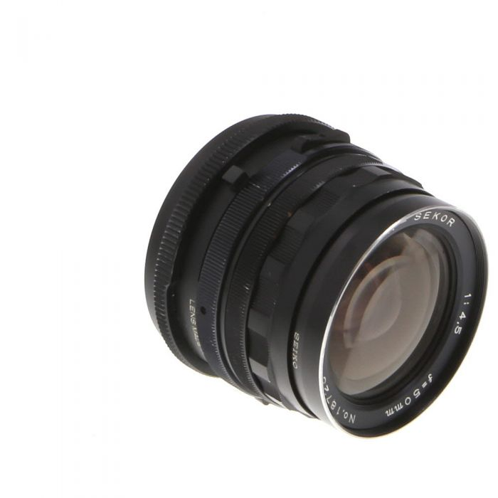 Mamiya 50mm f/4.5 Lens for RB67 {77}