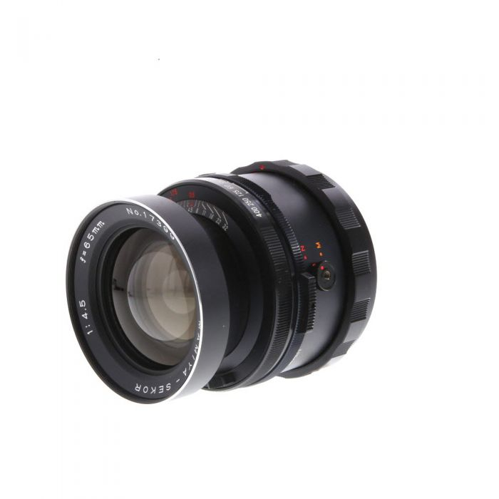 Mamiya 65mm f/4.5 Lens for RB67 {77}