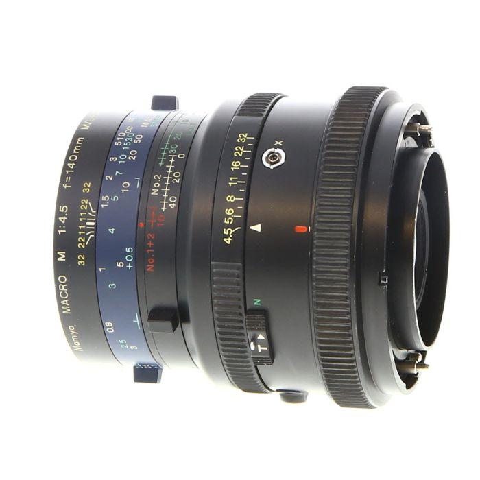 Mamiya 140mm F/4.5 M Macro LA Lens For Mamiya RZ67 System {77}