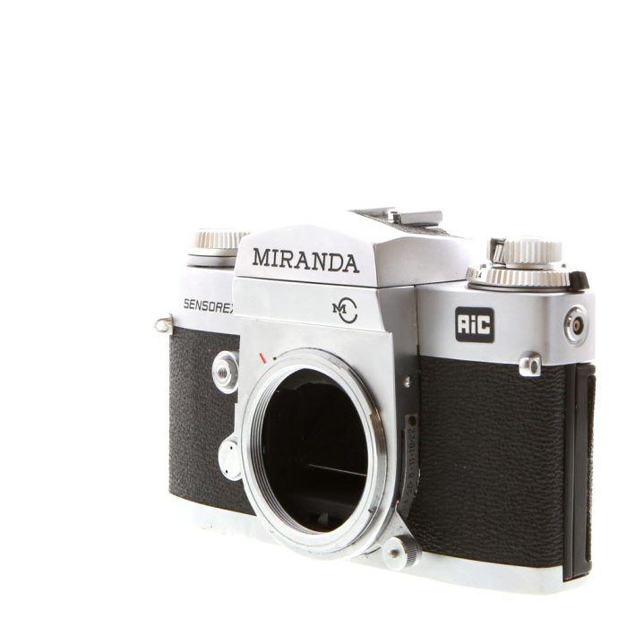 Miranda Sensorex II 35mm Camera Body