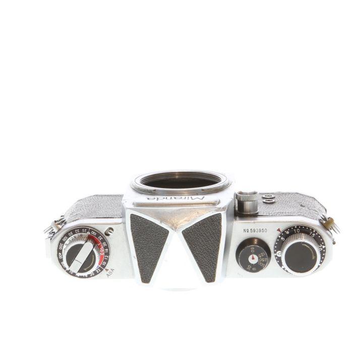Miranda T (Miranda) Chrome 35mm Camera Body