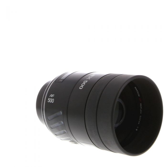 Minolta 500mm F/8 Reflex I Alpha Mount Autofocus Lens With Normal Filter (Incompatible With 3000I) {Drop-In}