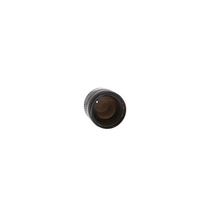 Minolta 85mm F/1.4 G Alpha Mount Autofocus Lens {72}