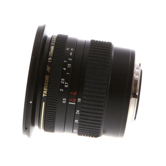 Tamron 19-35mm F/3.5-4.5 Autofocus Lens For Minolta Alpha Mount {77}
