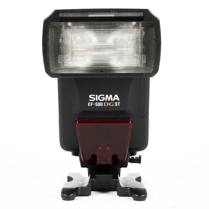 Sigma EF-500 DG ST Flash For Minolta AF [GN165] {Bounce, Swivel, Zoom}