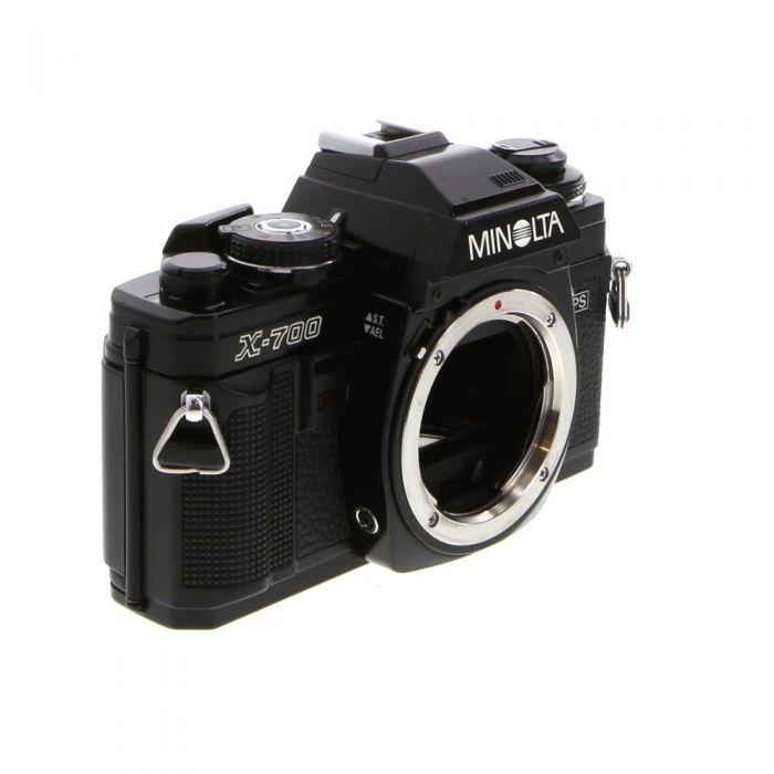 Minolta X-700 35mm Camera Body, Black