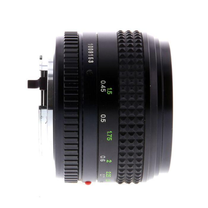 Minolta 50mm F/1.2 Rokkor-X MD Mount Manual Focus Lens {55}
