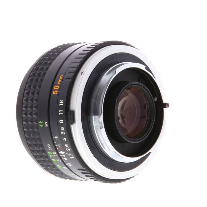 Minolta 50mm F/1.4 Rokkor PF MC Mount Manual Focus Lens {55}