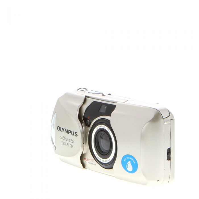 Olympus Stylus Epic Zoom 80 DLX All Weather Quartz Date 35mm Camera with 38-80mm