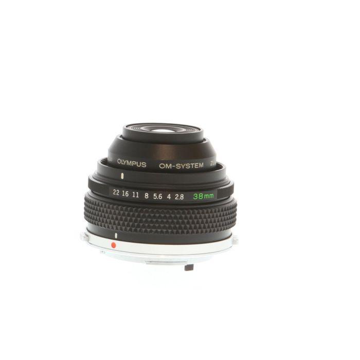 Olympus Zuiko 38mm F/2.8 Auto Macro OM Mount Manual Focus Lens