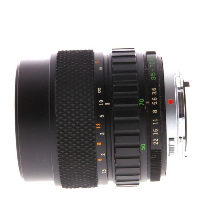 Olympus Zuiko 35-70mm F/3.6 2-Touch OM Mount Manual Focus Lens {55}