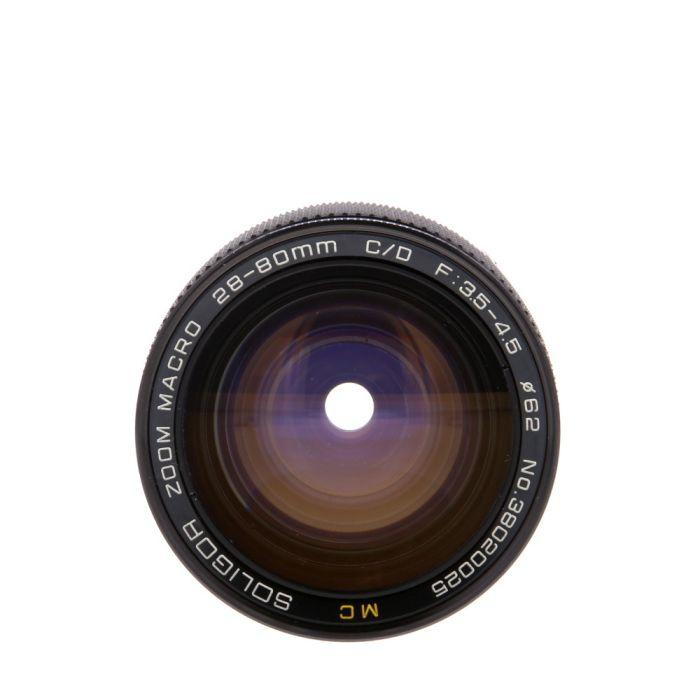 Soligor 28-80mm F/3.5-4.5 Macro Manual Focus Lens For Olympus OM Mount {62}