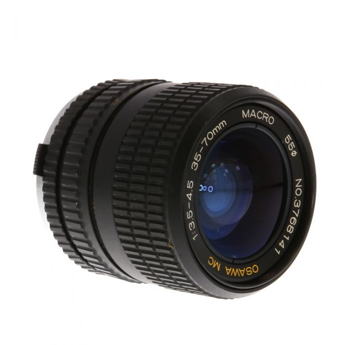 Miscellaneous Brand 35-70mm F/3.5-4.5 Macro 2-Touch Manual Focus Lens For Olympus OM Mount {55}