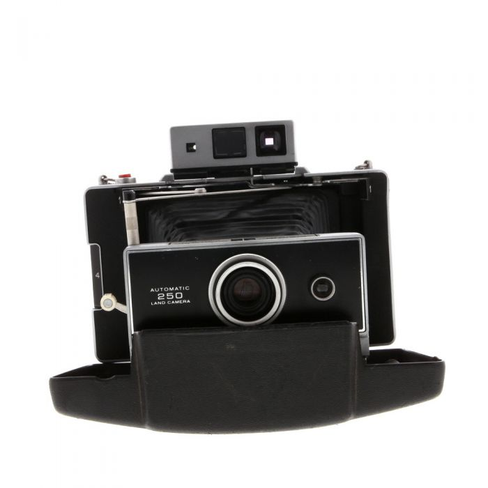 Polaroid 250 Land Camera With Zeiss Viewfinder