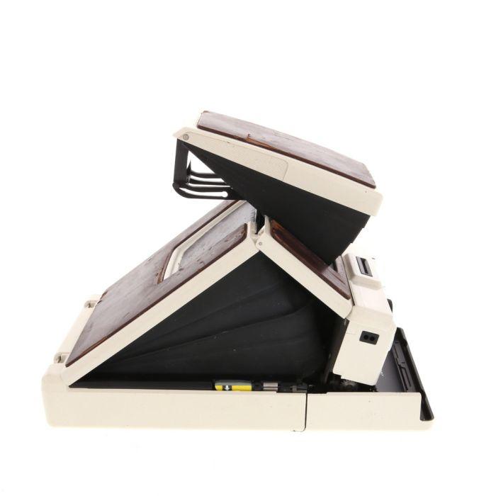 Polaroid SX-70 Model 2 Camera, White/Tan