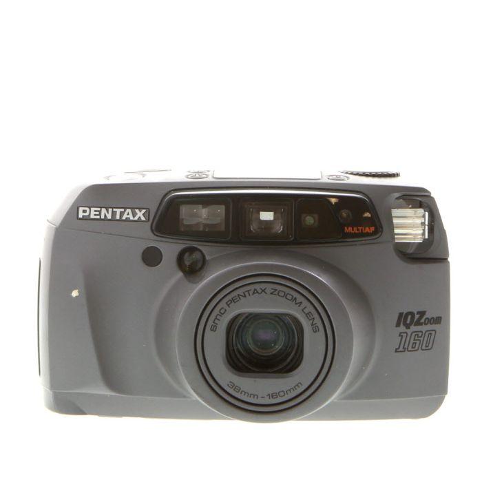 Pentax IQ Zoom 160 35mm Camera, (38-160mm) at KEH Camera