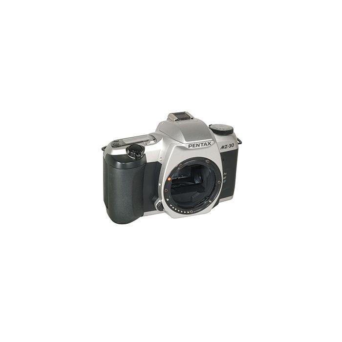 Pentax MZ-30 35mm Camera Body, Chrome, (Euro Version Of ZX-30)