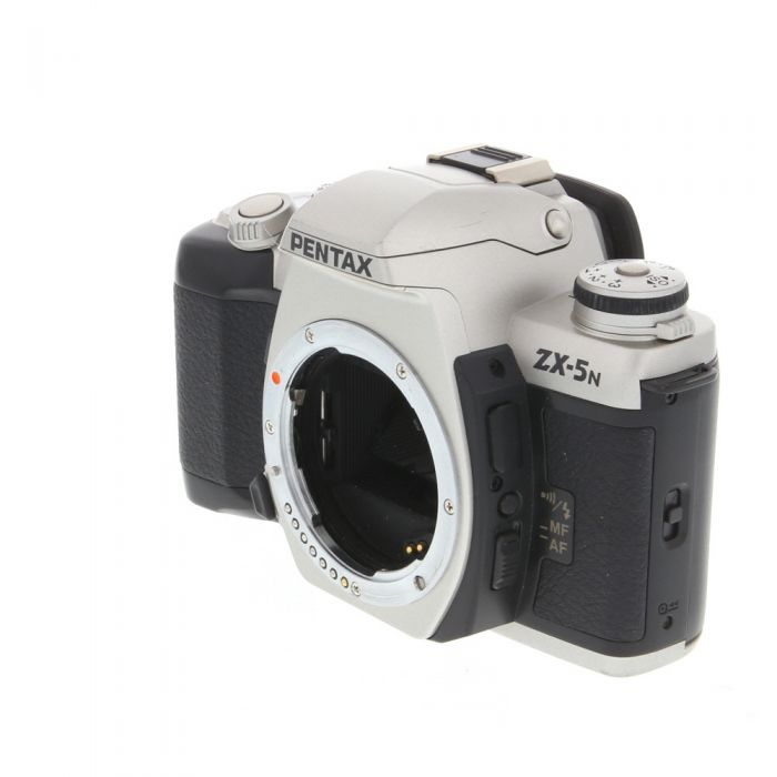 Pentax ZX-5N 35mm Camera Body, Silver