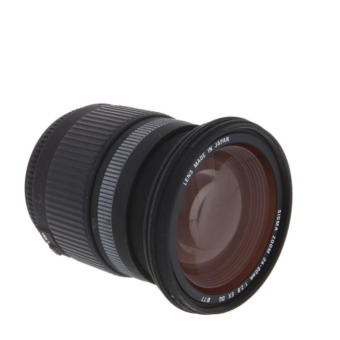 Sigma 24-60mm F/2.8 DG EX Autofocus Lens For Pentax K Mount {77}