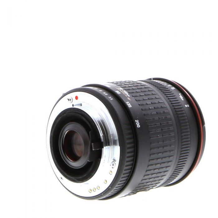 Sigma 28-200mm F/3.5-5.6 Aspherical Macro IF Compact Hyperzoom (Z, PZ Autofocus Lens For Pentax K Mount {62}