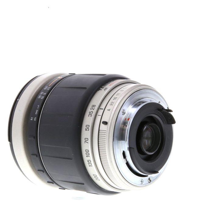 Tamron 28-200mm F/3.8-5.6 Aspherical LD IF Silver 271D Autofocus Lens For Pentax K Mount {72}