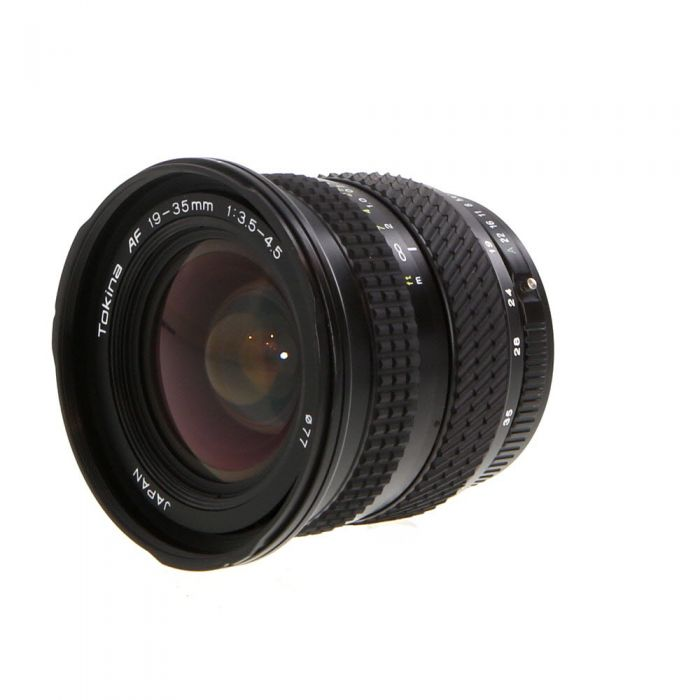 Tokina 19-35mm F/3.5-4.5 Autofocus Lens For Pentax K Mount {77}