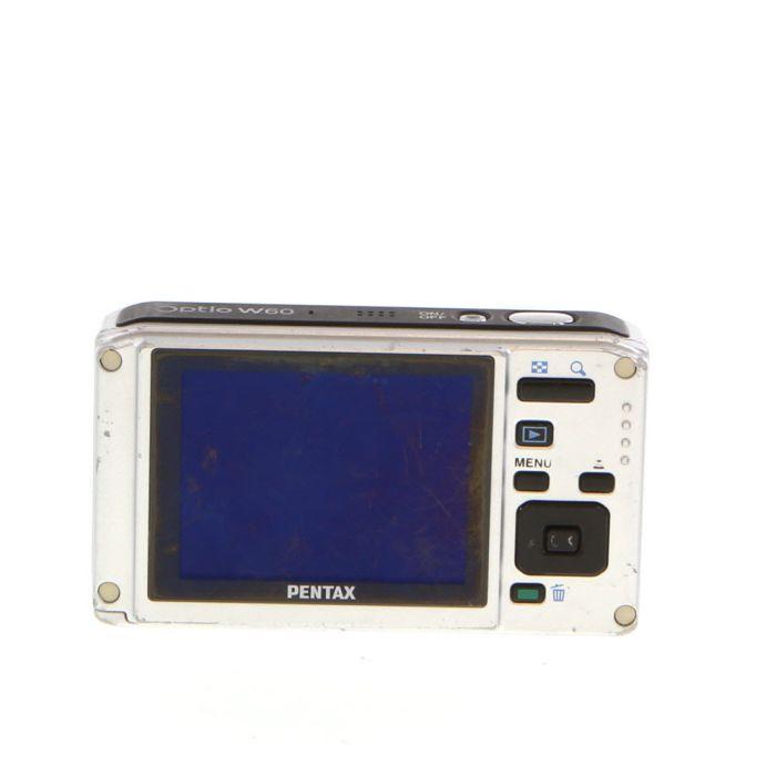 Pentax Optio W60 Blue Digital Camera {10 M/P}