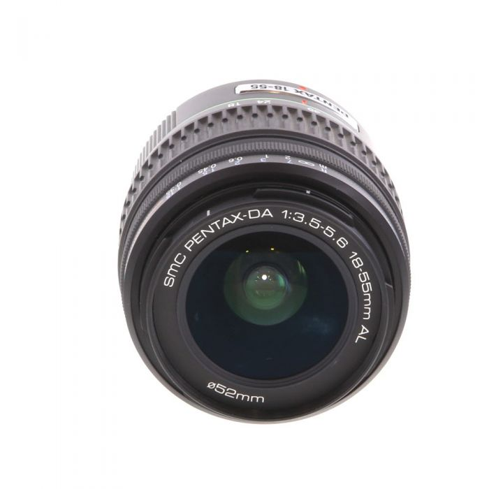 Pentax 18-55mm F/3.5-5.6 SMC DA AL K Mount Autofocus Lens For APS-C Sensor DSLRS {52}