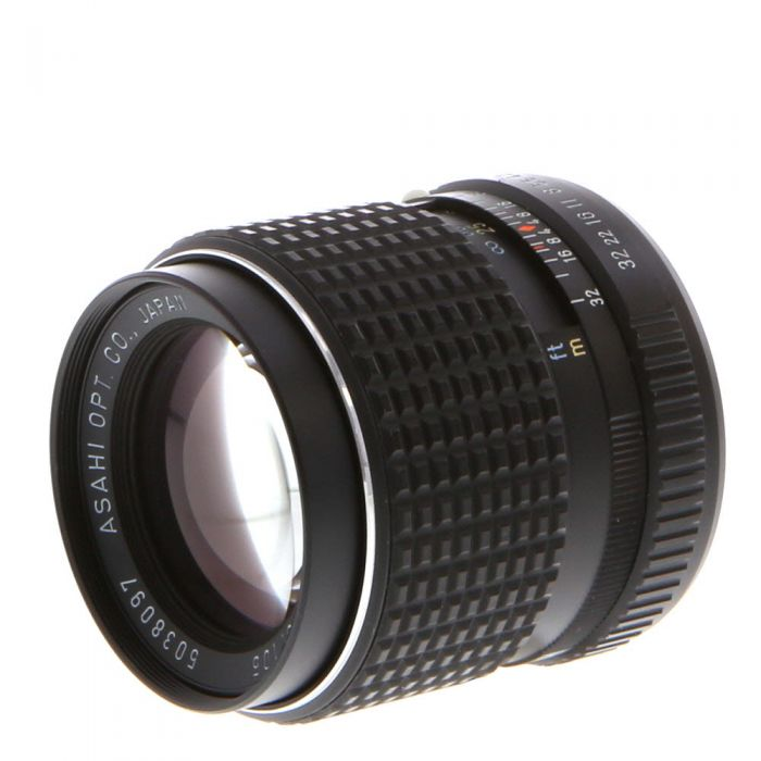 Pentax 105mm F/2.8 SMC K Mount Manual Focus Lens {52}