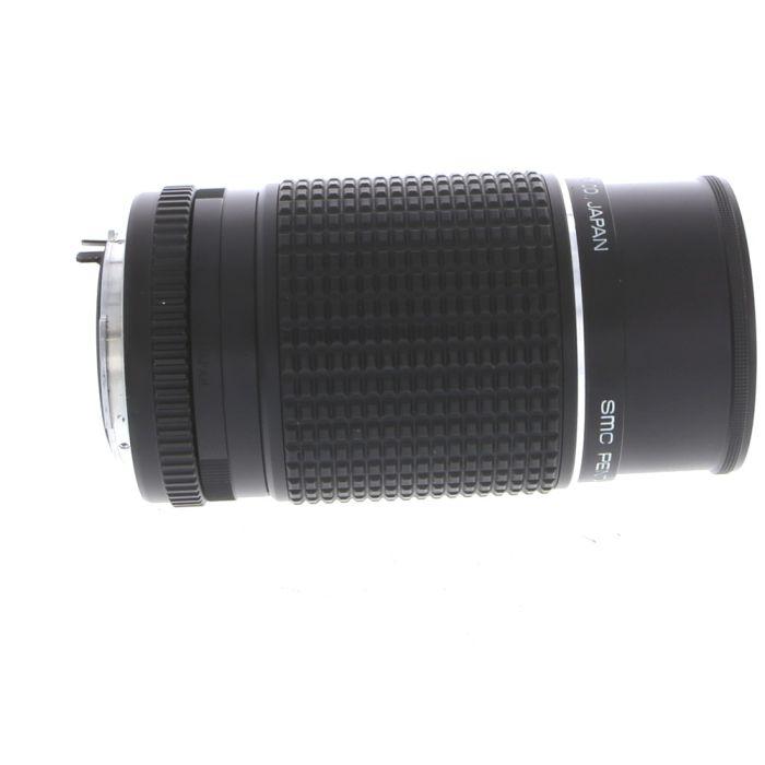 Pentax 200mm F/4 SMC K-Mount Manual Focus Lens {52}