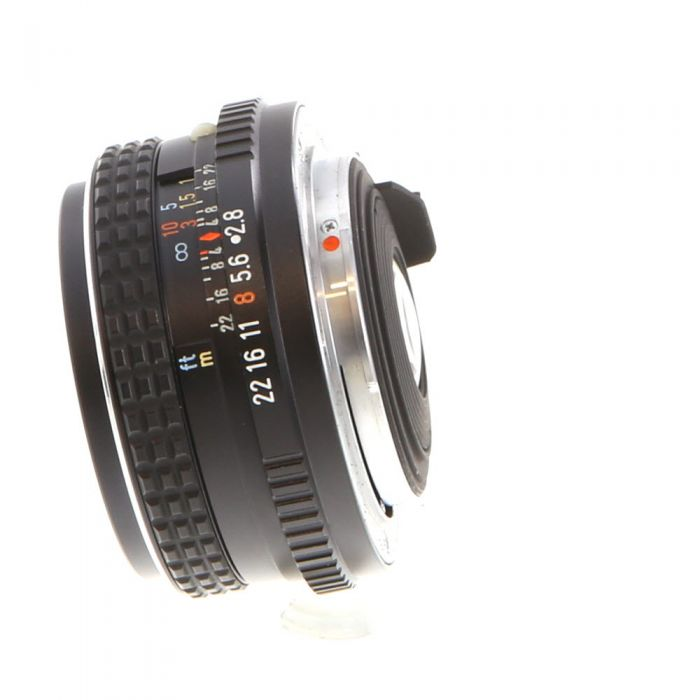 Pentax 28mm F/2.8 SMC M K Mount Manual Focus Lens {49}